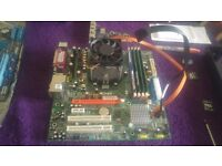 aser motherboard withamd 2.3 cpu