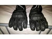 Duchinni motorcycle gloves, size 2XL