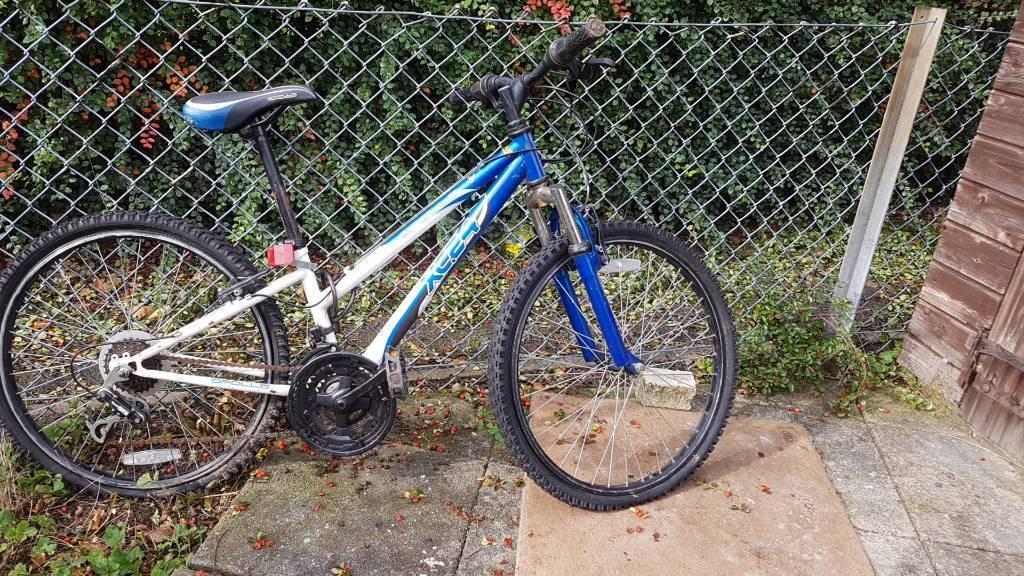Bike both tyres flat