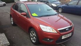 2009 FOCUS 1.6 DIESEL. £30 A YEAR TAX £1495 NO OFFERS AT ALL