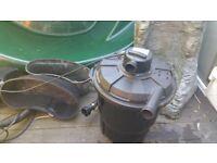 Pond, pump, filter with UV full set up bargain