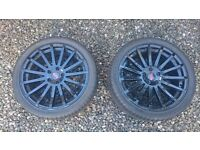2X FORD RS ALLOYS