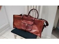 Leather mens hold all usually £62 it has shoulder strap too.