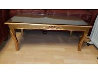 beautiful French style coffee table excellent condition.