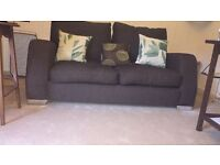 ***OFFERS***DFS 3 seater brand new quality material sofa chocolate