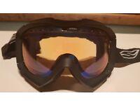 Smith Prodigy Ski & Snowboard Goggles, Black, Medium to Large