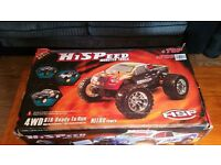 Bug Crusher Pro Nitro Remote Control Monster Truck
