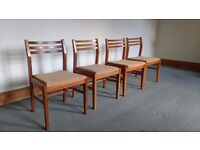 4 Kitchen / Dining / Bedroom Chairs