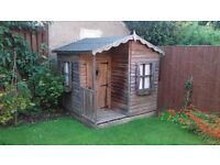 6ftx6ft wooden playhouse