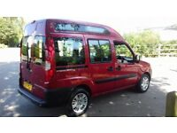 FIAT DOBLO 1.4 HIGHROOF WHEELCHAIR ADAPTED ONLY 24K
