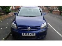 Volkswagen Golf Plus PETROL 1.6 MOT TILL JUNE 2018 EXCELLENT CONDITION DRIVES REALLY WELL