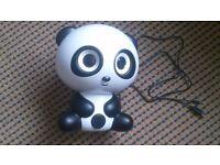 Large Panda Bluetooth Speaker Used Twice!