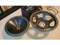 "SUBWOOFER Genesis Loudspeaker SERVO 12 Parts = Power Supply Control Woofer 12"""
