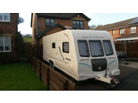 Bailey 624 twin axle caravan