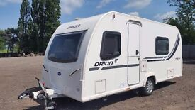 Bailey Orion 440/4. 4 Berth U Shaped Side Double Dinette. Can be used as Fixed Bed. Awning and Mover