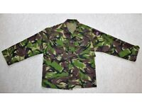 """Lightweight DPM Field Combat Jacket 35-37"""" Inch Chest 160/88 in VGC (ATC CCF cadets army woodland)"""