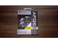 Corsair AF120 White Led Twin Pack *NEW*
