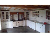 Handmade Inframe Painted Kitchen