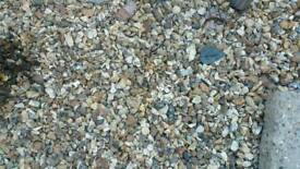 50 bags of stones/chippings