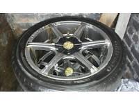 """17"""" alloy wheeles"""