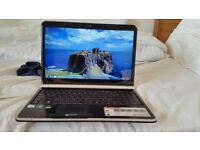Packard bell easynote tj65 windows 7 4g memory 300g hard drive webcam wifi hdmi charger