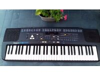 Roland 16 E Electric Keyboard with Stand and Instruction Manual