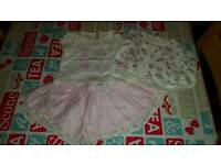 Girls 0-3mths clothes