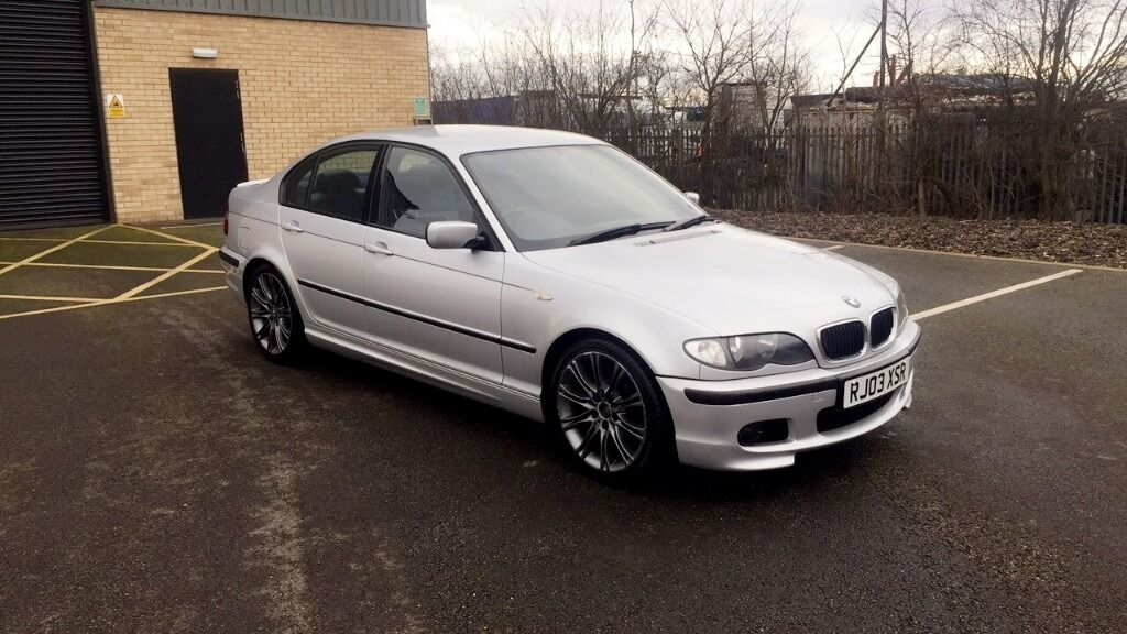 2003 Bmw 320d M Sport Silver In Doncaster South