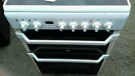 Indesit 60 cm electric double cooker free nn delivery 3 months warranty