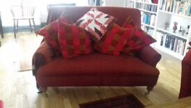 For sale - sofa and matching armchair