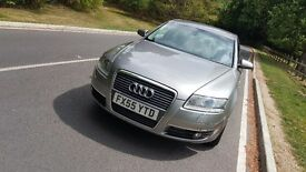 Audi A6 C6 2.7tdi, LEATHER SEATS, FACTORY FITTED XENONS, PERFECT RUNNER