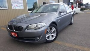 2011 BMW 5 Series 528i-1 OWNER OFF LEASE-LOADED-LEATHER-SUNROOF