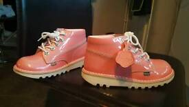 Girls new kickers uk size 1