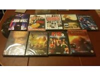 9 DVDs for sale - all unused & still in wrappers