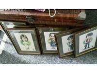 Snooker Players Framed Pictures