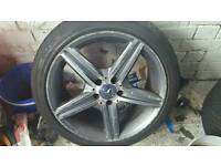 Amg wheel genuine 2012- 16 / mercedes alloy /