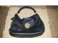 BLACK LEATHER MULBERRY BAG