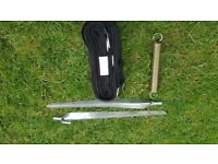 FIAMMA AWNING TIE DOWN KIT - BRAND NEW - Ideal for TENT / CAMPER / FESTIVALS