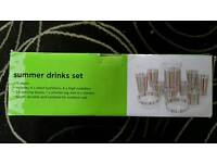 15 piece Summer drinks set