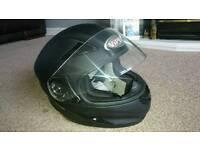 Motorcycle Helmet+ Gloves