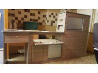Vw T5-t6 driftwood kitchen. C.N.C cut
