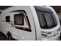 PRICE REDUCED! 2014 Coachman VIP 460/2 2 Berth Caravan, as new condition