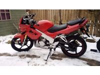 Kaiser 125-23 125cc Motorcycle - Mot'd Till 24th October 2018