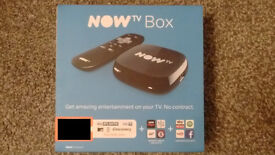 NowTv NOW TV box - New & unused (box only, NO pass)