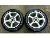 Ford cosworth style wheels set of 4
