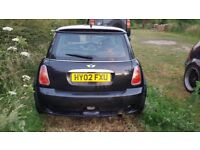 Mini cooper with jcw bodykit spares repaires
