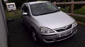 2005 Vauxhall Corsa price drop Full Mot