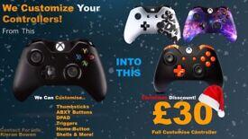 Xbox One Custom Controllers.