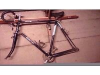 vintage Bsa Racer bike Frame and parts..Ideal singlespeed conversion