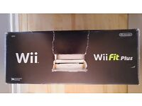 Nintendo Wii black console Wii Fit Plus (NEW) (wii2)
